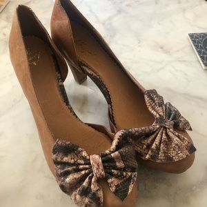 Anthropologie Miss Albright Size 11 Heels